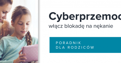 Cyberprzemoc – poradnik dla rodziców