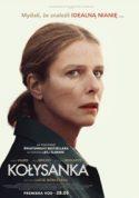 Zdjęcie okładki filmu: biała kobieta w średnim wieku zwrócona twarzą w stronę widza, jej twarz wyraża obawę