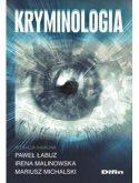 """Zdjęcie okładki książki, pt. """"Kryminologia"""" - wszystkowidzące oko."""