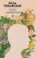 Zdjęcie okładki książki: męski profil na tle z girlandów kwiatów