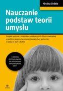 """Zdjęcie okładki książki, pt. """"Nauczanie podstaw teorii umysłu"""" - głowa młodej dziewczynki z uniesionym palcem wskazującym głowę."""