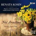 Zdjęcie okładki audiobooka: bukiet polnych kwiatów stojący na stole.