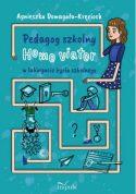 Zdjęcie okładki książki - postać kobiety, której ręce i nogi tworzą labirynt organizujący różne sytuacje szkolne.