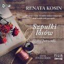 Zdjęcie okładki audiobooka: róże leżące na rozłożonej książce obok szpulka nici.
