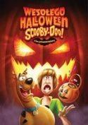 Zdjęcie okładki filmu: bohaterowie kreskówki Scooby Doo w haloweenowej scenerii.
