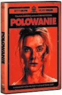 Okładka płyty DVD - zdjęcie zakrwawionej twarzy kobiety jak z kroniki policyjnej.
