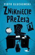 Miniatura okładki książki: rysunek opustoszałego gabinetu prezesa PiS Jarosława Kaczyńskiego - pod biurkiem stoi kot prezesa