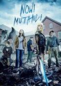 """Zdjęcie okładki filmu """"Nowi mutanci"""" - pięć postaci młodych mutantów z popularnego komiksu Marvela."""