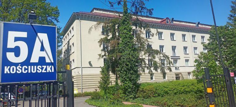 Fasada przednia budynku Biblioteki Pedagogicznej w Radomiu
