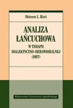 """Zdjęcie okładki książki, pt.""""Analiza łańcuchowa w terapii dialektyczno-behawioralnej (DBT) """"."""