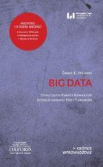 """Zdjęcie okładki książki, pt. """"Big data """"."""