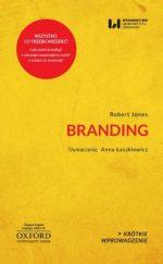 """Zdjęcie okładki książki, pt.""""Branding""""."""