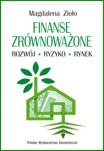 """Zdjęcie okładki książki, pt. """"Finanse zrównoważone""""."""