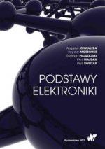 """Zdjęcie okłądki książki, pt. """"Podstawy elektroniki """"."""