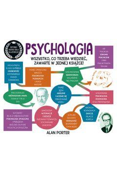 """Zdjęcie okładki książki, pt. """"Psychologia: szybki kurs dla każdego""""."""