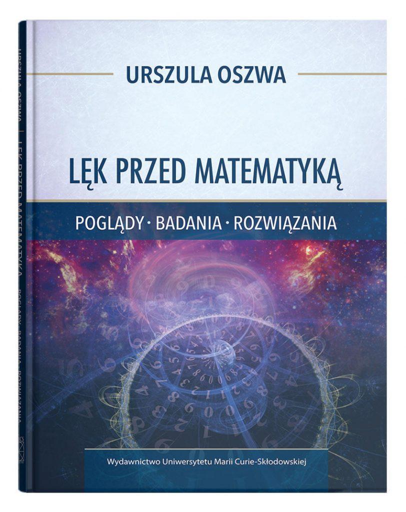 """Zdjęcie okładki książki, pt. """"Lęk przed matematyką"""""""