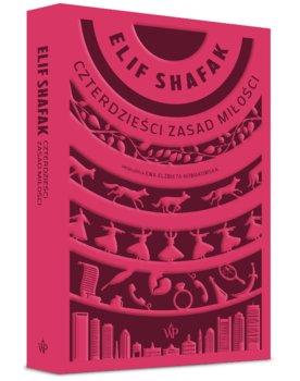 """Okładka książki, pt. """"Czterdzieści zasad miłości"""""""