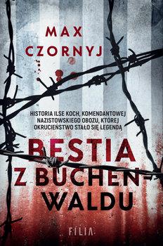 """Zdjęcie okładki książki, pt. """"Bestia z Buchenwaldu"""""""