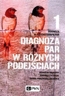 """Zdjęcie okładki książki, pt. """"Diagnoza w psychoterapii par. 1, Diagnoza par w różnych podejściach """"."""