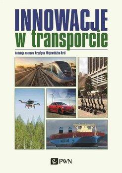 """Zdjęcie okładki książki, pt. """"Innowacje w transporcie """"."""