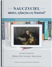 """Zdjęcie okładki książki, pt. """"Nauczyciel - mistrz, sybaryta czy frustrat? : rozważania humanistów """""""