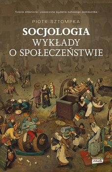 """Zdjęcie okładki książki, pt. """"Socjologia : wykłady o społeczeństwie """"."""